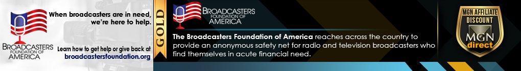 Visit Broadcasters Foundation of America